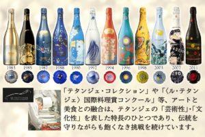 テタンジェ コレクション アートボトル 高級シャンパン